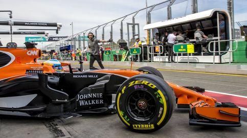 Alonso: En las curvas les gano cincuenta metros, y pierdo doscientos en las rectas