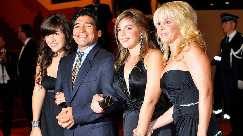 Maradona, en una imagen de archivo. (Getty)