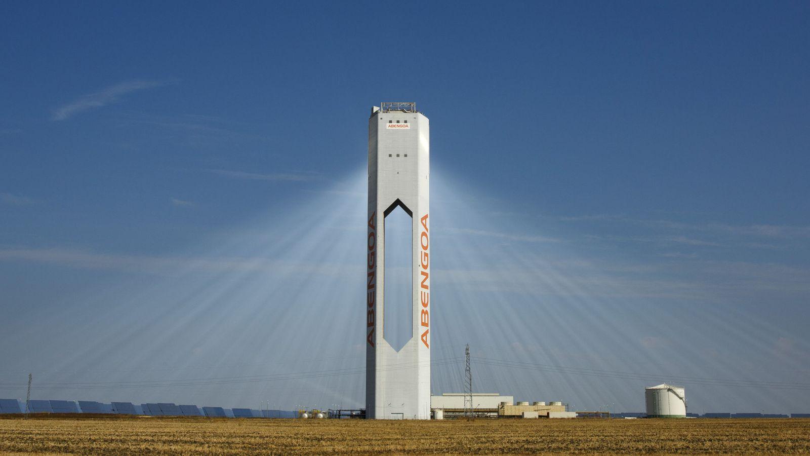 Foto: Una torre de Abengoa.