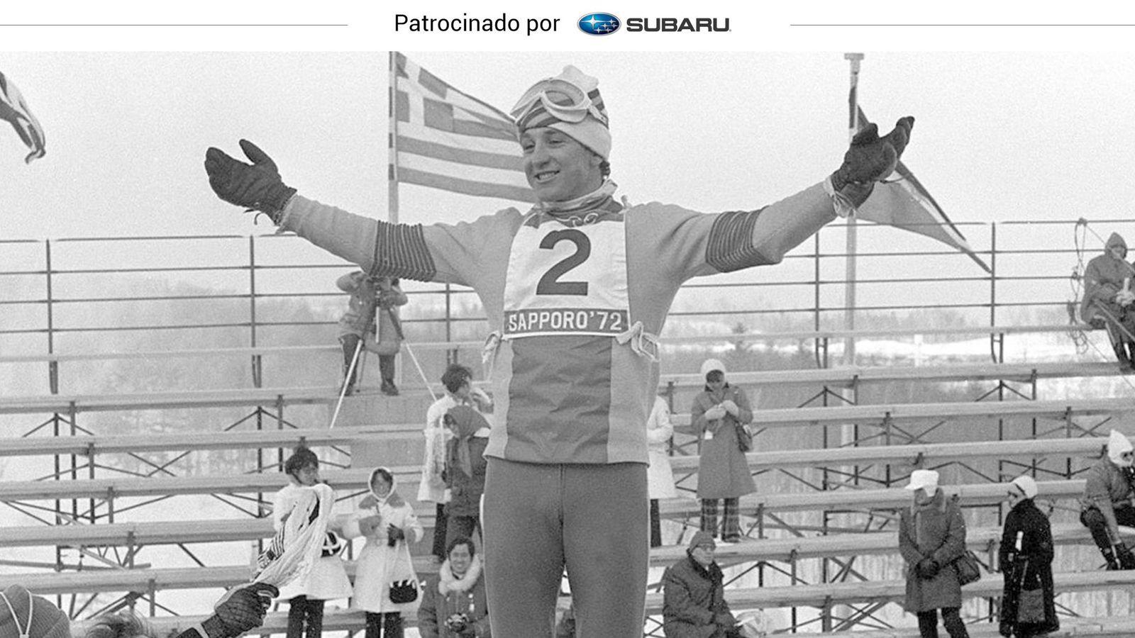 Foto: Paco Fernández Ochoa, en los Juegos Olímpicos de Sapporo 1972 (EFE)