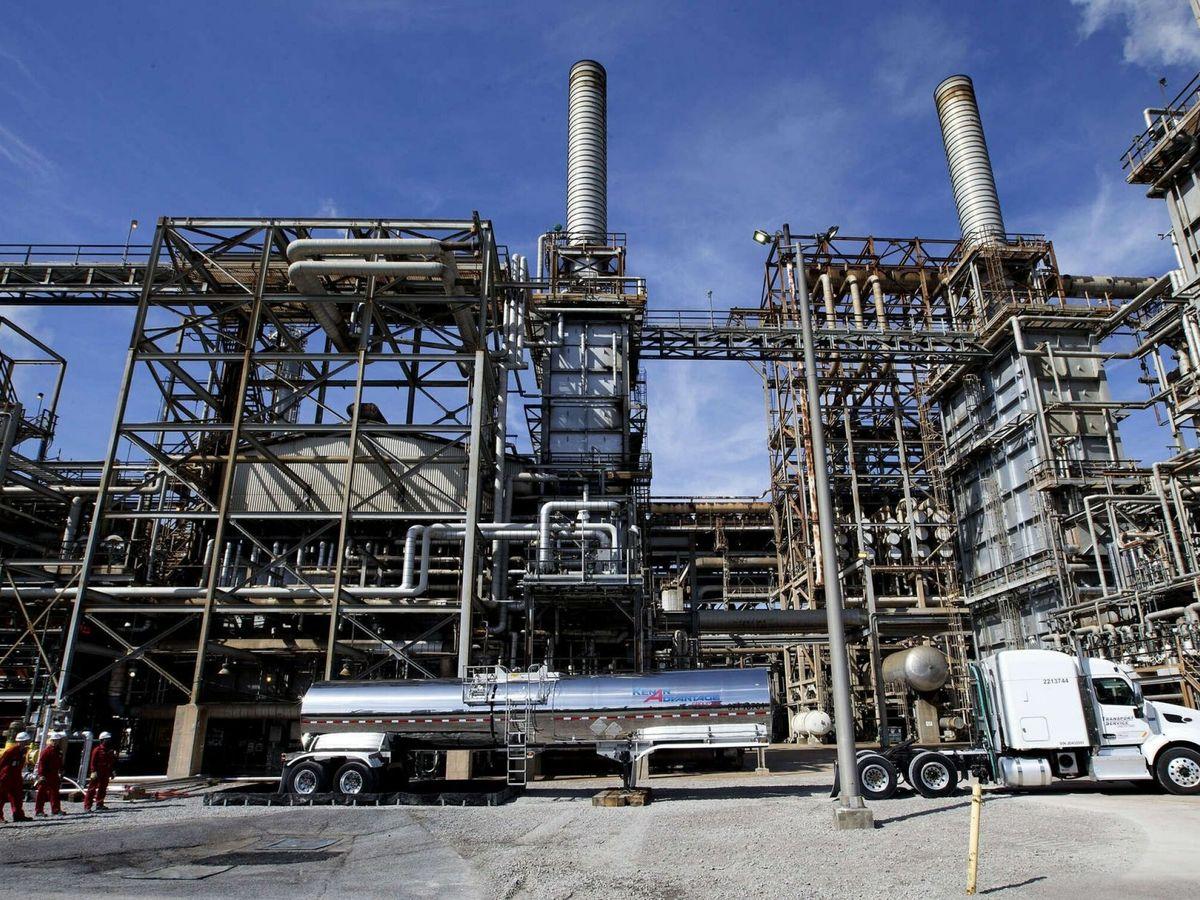 Foto: Planta de reciclaje estadounidense. (EFE)