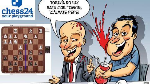 """¡Mate con tomate!"". Así se narra una partida de ajedrez al estilo NBA"