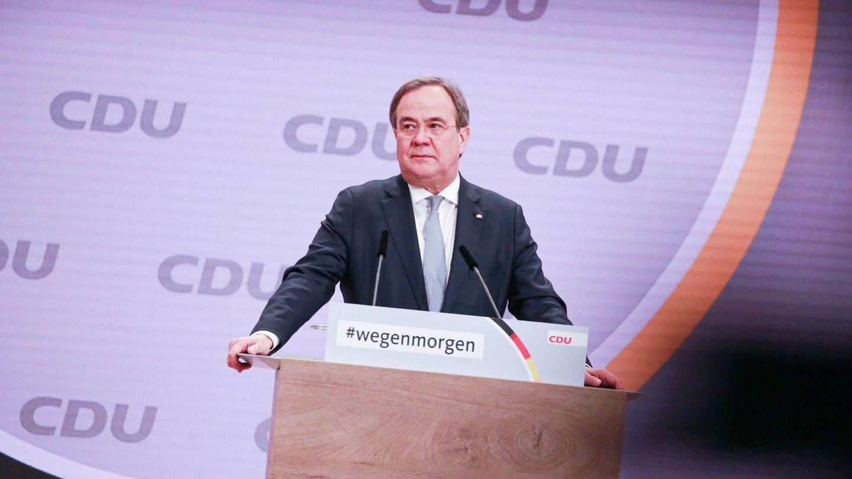 Armin Laschet, sucesor de Angela Merkel al frente de la democracia cristiana alemana. (EFE)