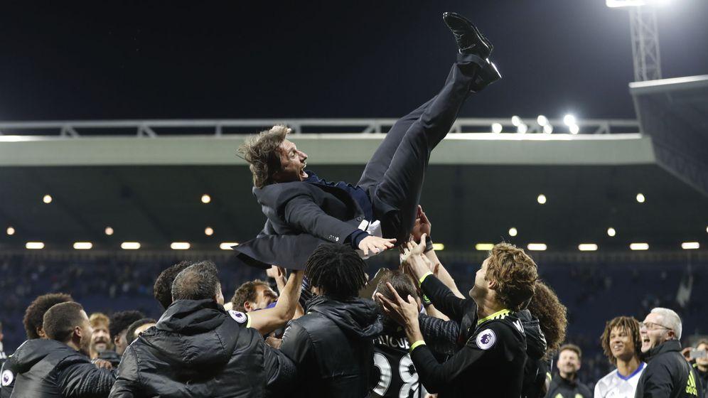 Foto: Desde que está en grandes clubes, Conte siempre ha ganado la liga. (Reuters)