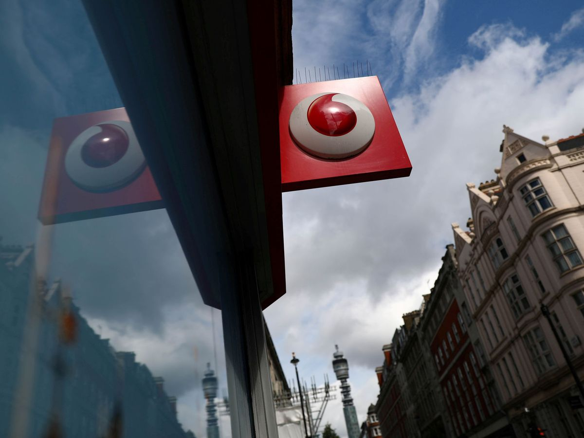Foto: Foto del logo de Vodafone. (Reuters)