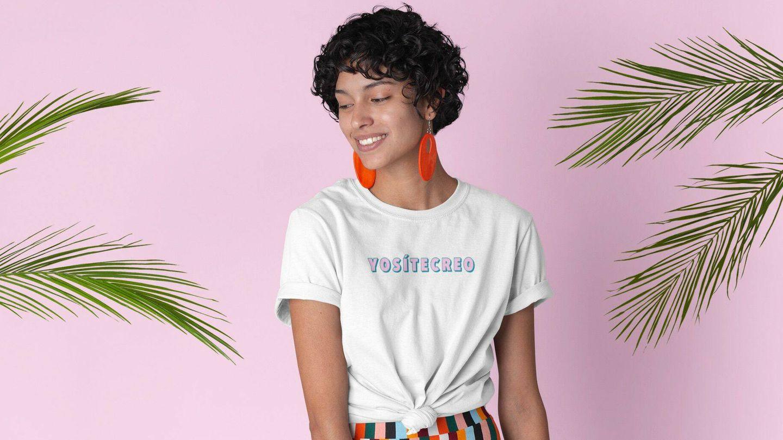 Modelo de camiseta personalizable. (@soypitita)
