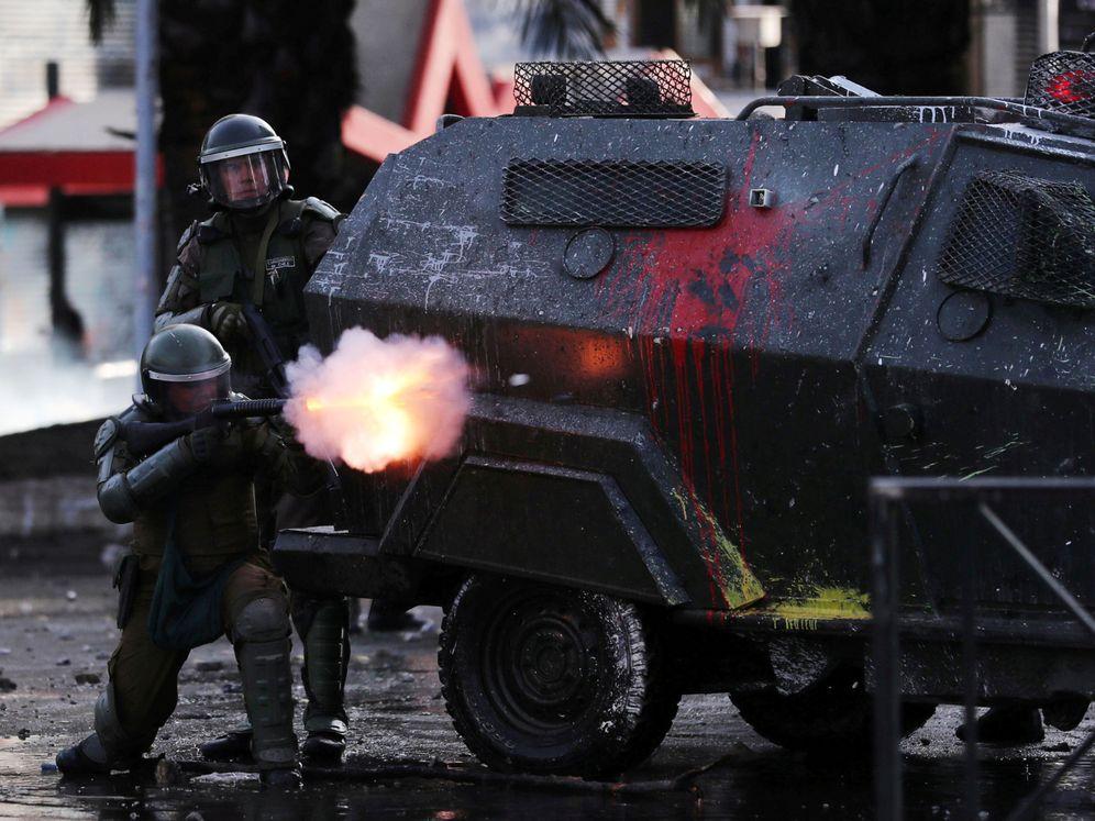 Foto: Quinto día de protestas en Chile. (Reuters)