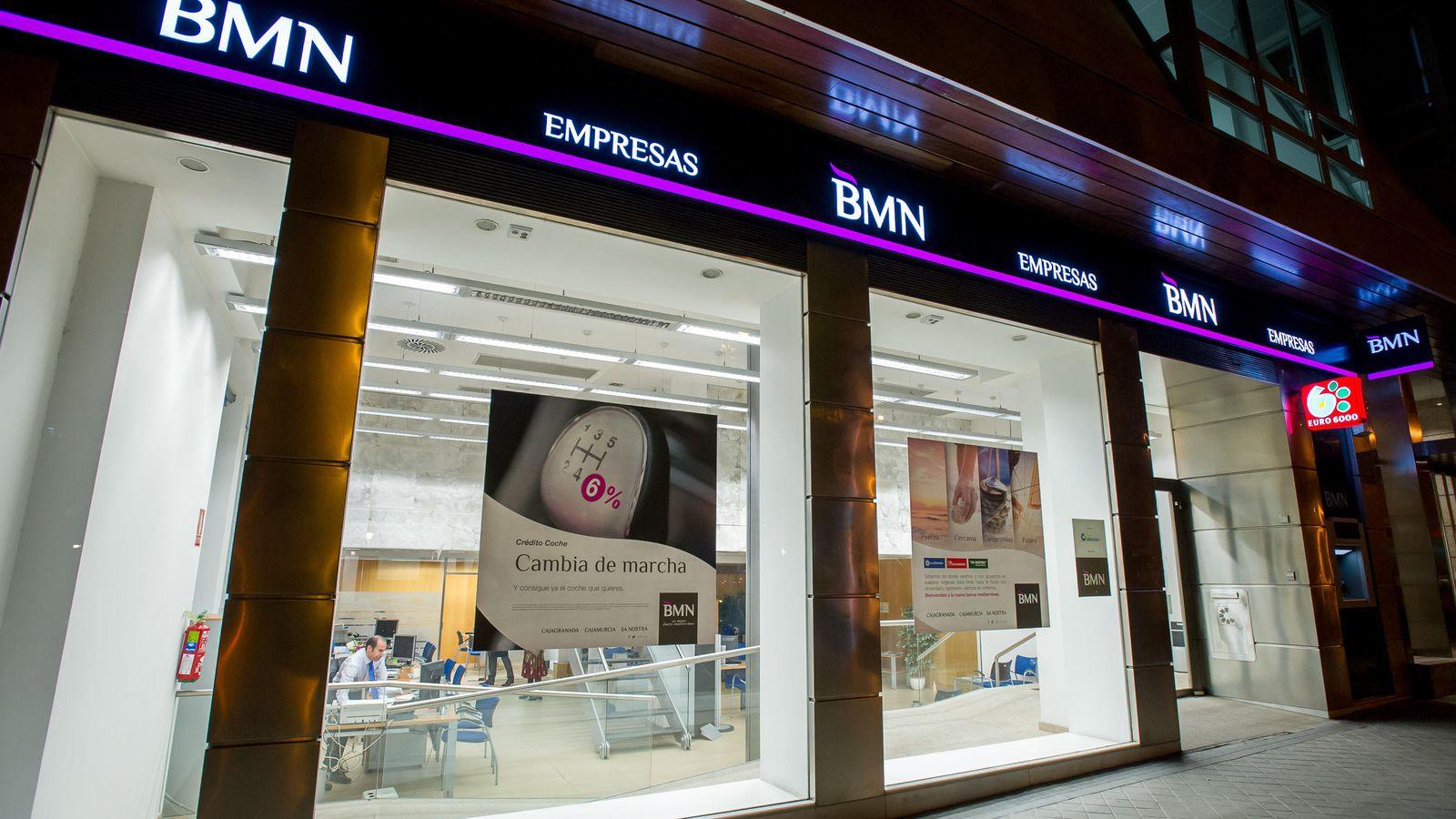 Foto: Oficinas comerciales de BMN en Madrid.