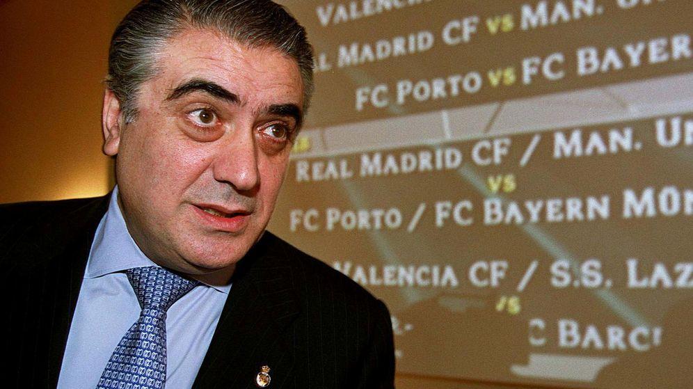 Foto: Lorenzo Sanz era un presidente temperamental, pero cercano y cariñoso (Reuters)