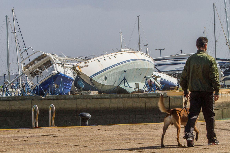 El horror del tornado en andaluc a se llev coches - Tornados en espana ...