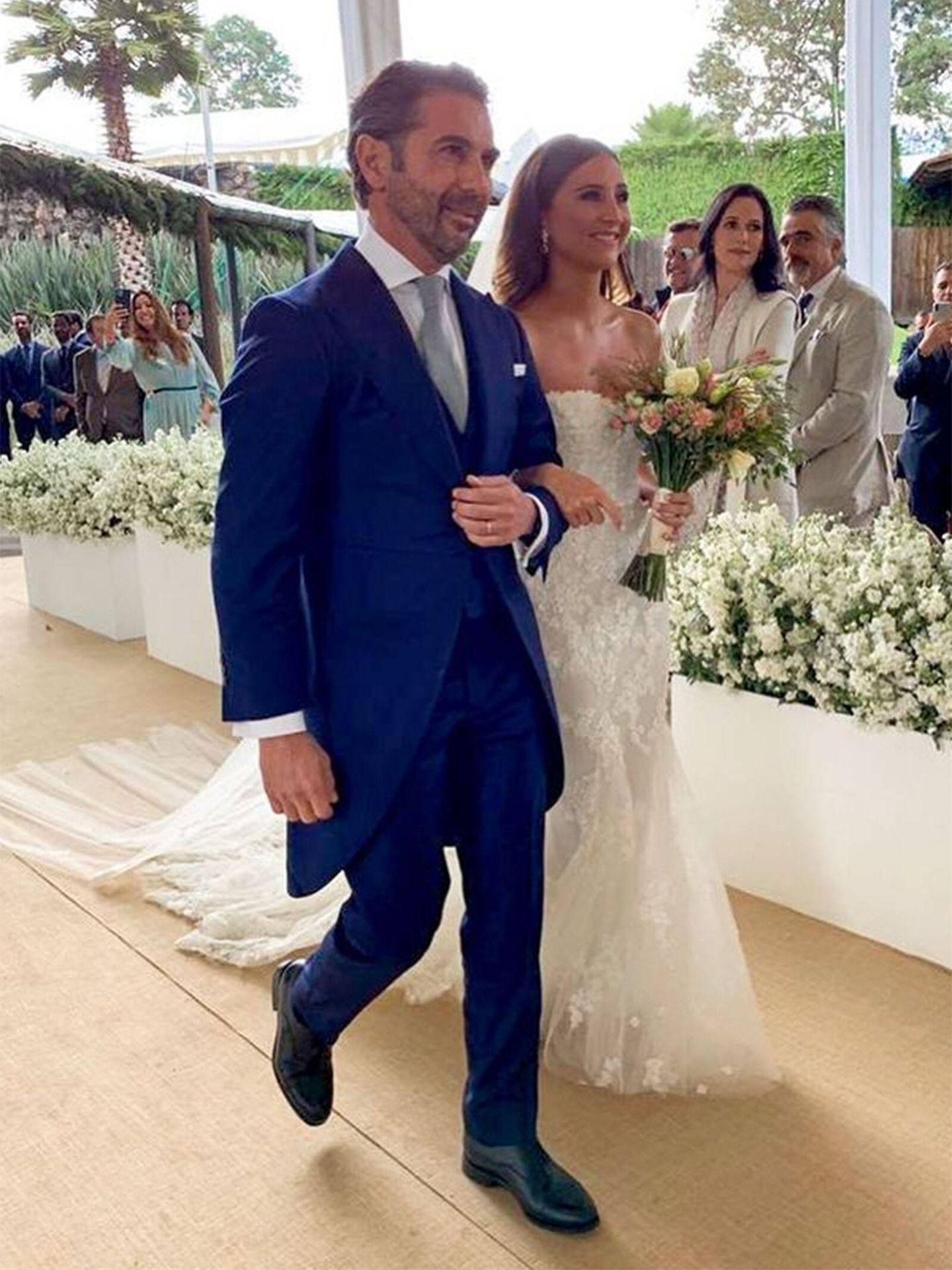 La boda de la hijastra de Eva Longoria. (Instagram @evalongoria)