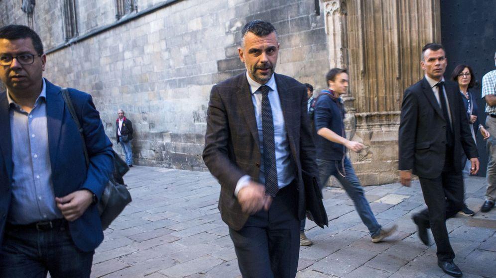 Foto: El hasta este jueves 'conseller' de Empresa y Conocimiento, Santi Vila. (EFE)