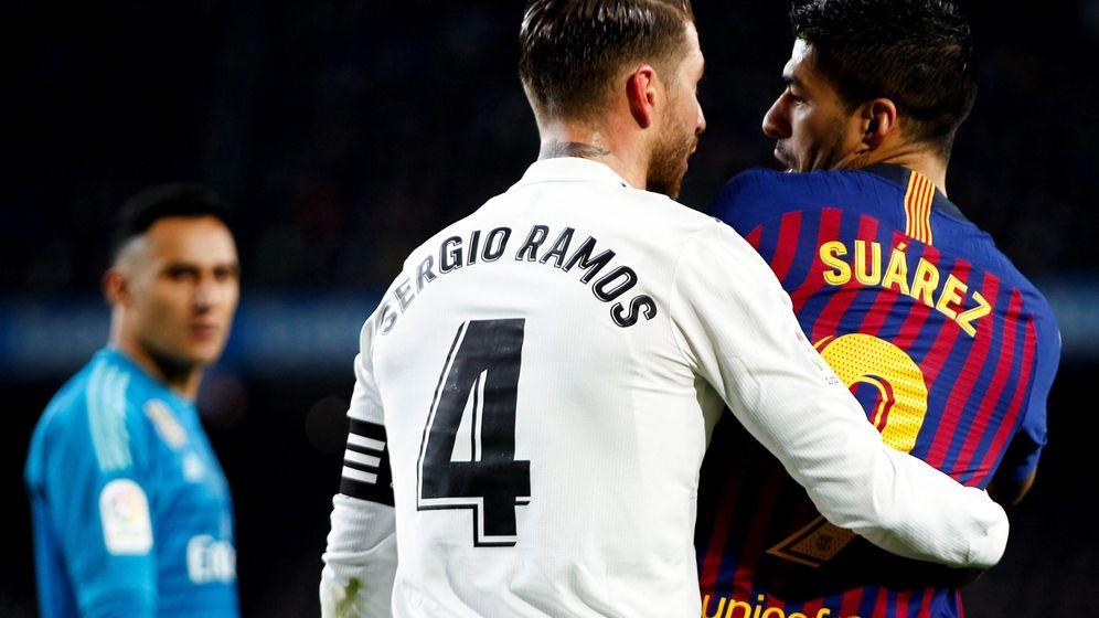 Foto: Partido Real Madrid - FC Barcelona. (EFE)