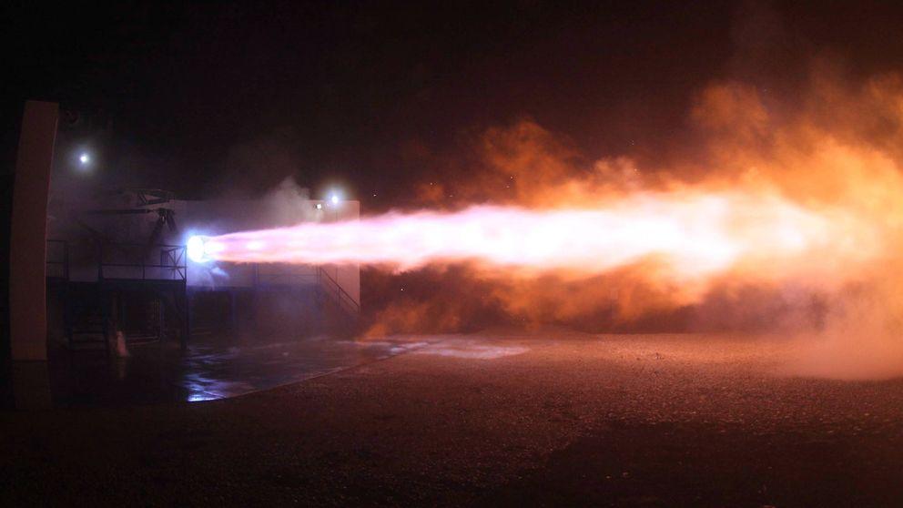 SpaceX prueba por primera vez los motores que nos pueden llevar a Marte