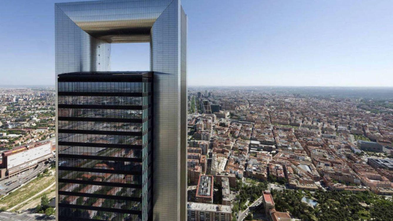Foto: La Torre Foster de Pontegadea sobre el 'skyline' de Madrid.