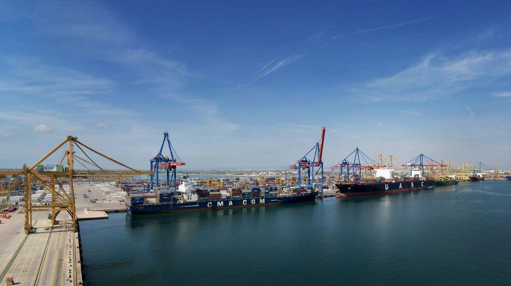 Foto: La terminal de Noatum en Valencia que ahora controlará Cosco. (Noatum)