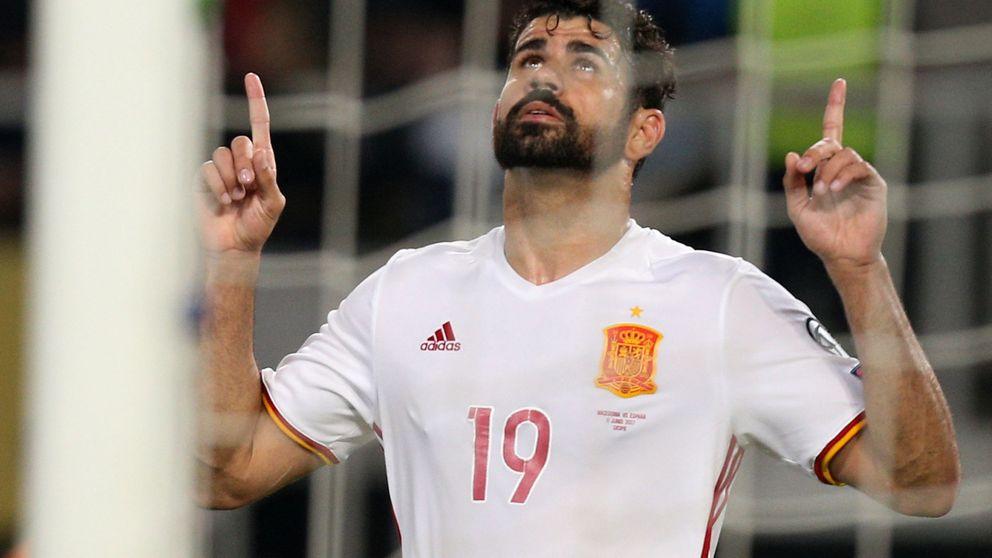 ¿Y ahora dónde tiene hueco Diego Costa en la selección de los centrocampistas?