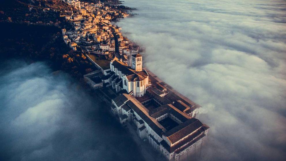 Volcanes y camellos: las mejores fotos del año hechas con drones