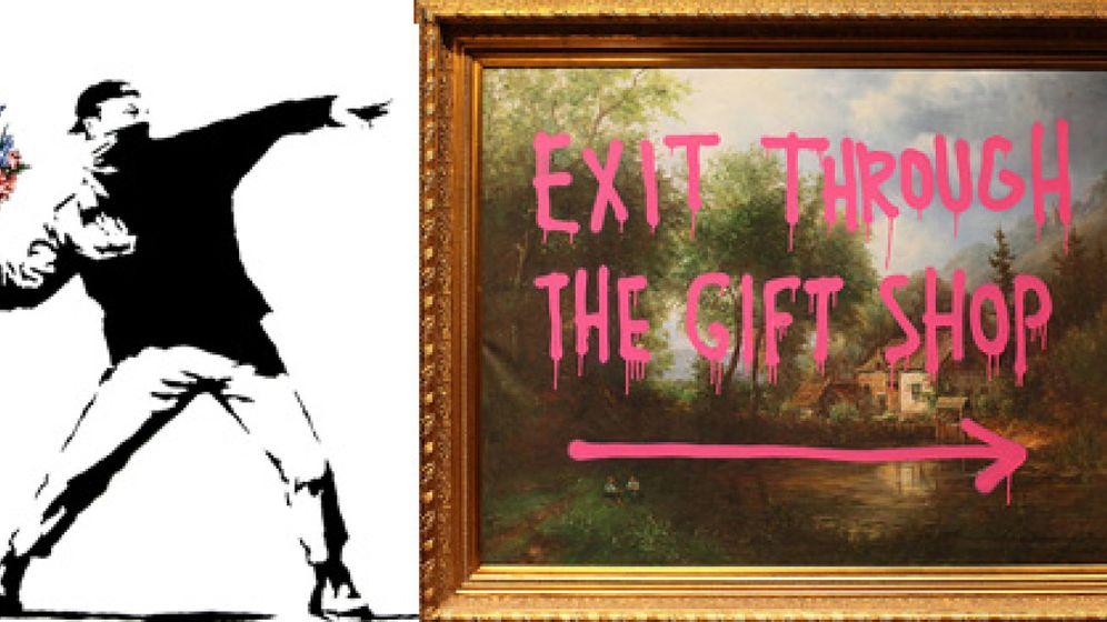 Foto: El grafitero Banksy se ríe de su enigma en Sundance