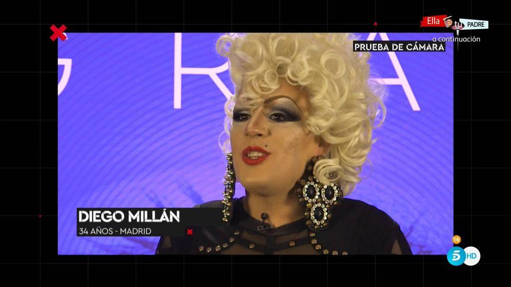 Foto: Diego Millán, aspirante a concursar en 'GH Revolution'. (Mediaset España)