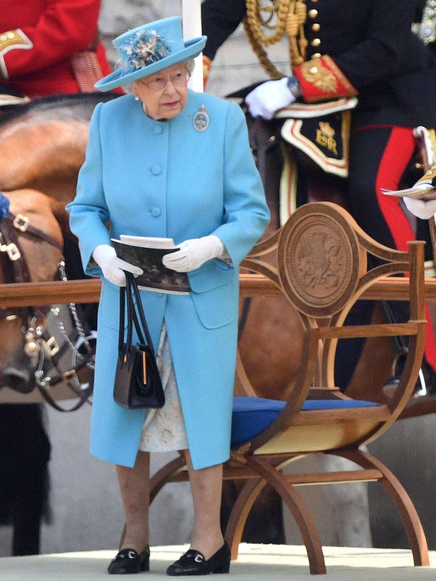La reina Isabel II, espléndida a sus 92 años. (Gtres)