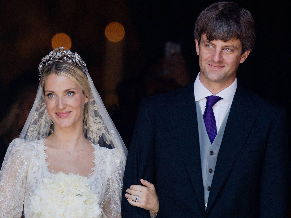 Foto: Ernesto de Hannover Jr. y Ekaterina Malysheva, el día de su boda. (Gtres)