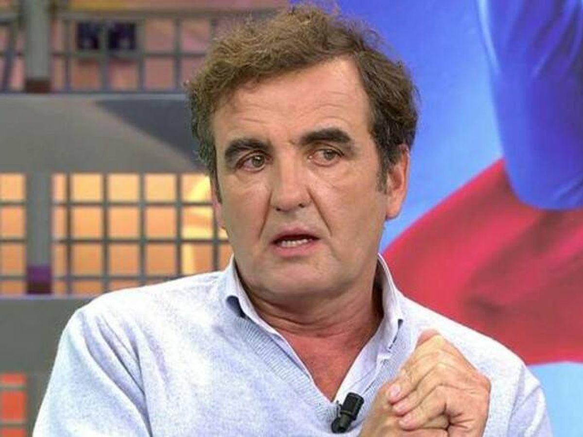 Foto: Antonio Montero, en 'Sálvame'. (Telecinco)