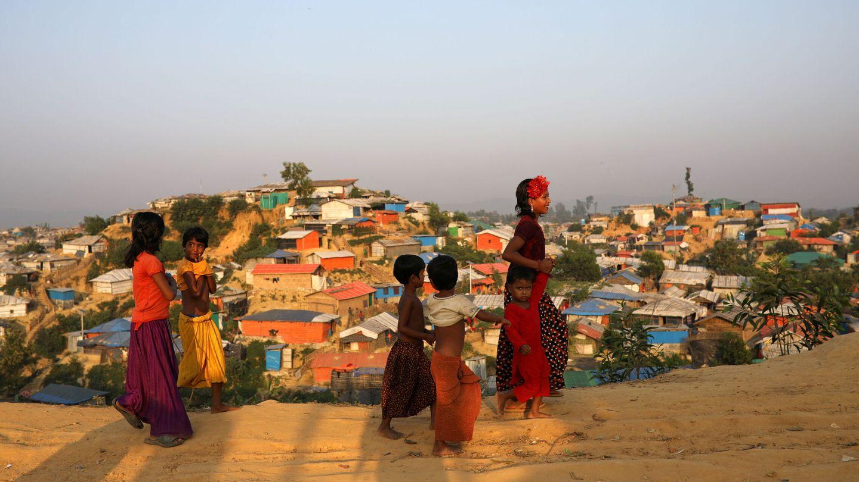 Campo de refugiados rohinyás. (Reuters)