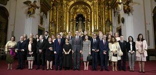 Post de Lolita, Perales, Echanove... Los asistentes a las Medallas de las Bellas Artes
