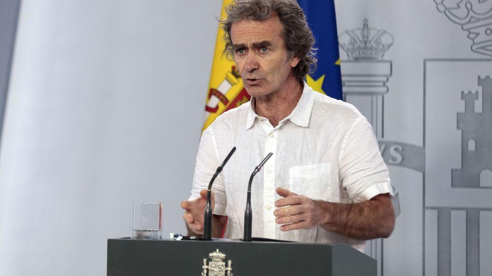 Foto: Fernando Simón, durante una rueda de prensa esta semana. (Reuters)