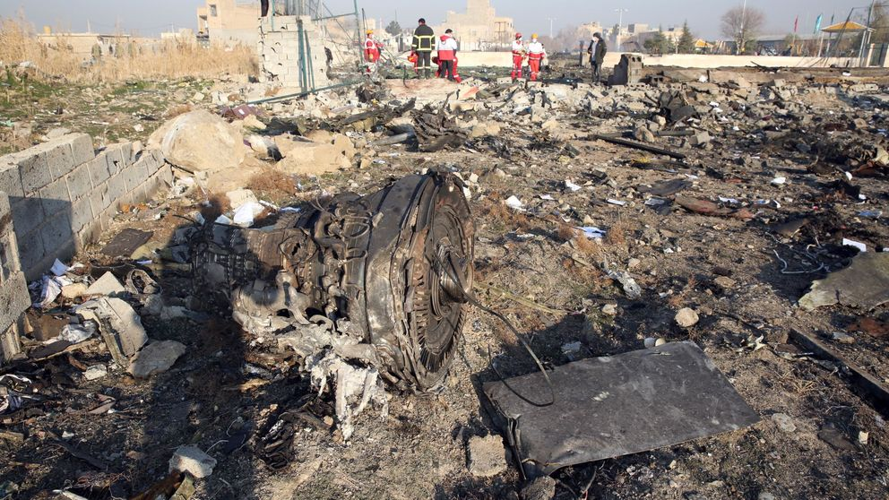 Irán confirma que fueron dos los misiles disparados contra el avión ucraniano