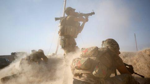 Con las fuerzas especiales iraquíes en Mosul