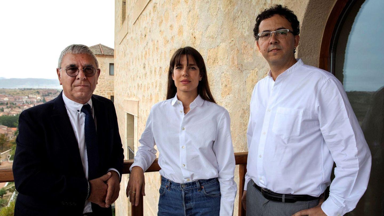Carlota Casiraghi, durante su visita a Segovia para hablar de su libro. (EFE)