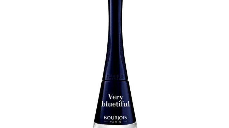 Esmalte azul noche de Bourjois.