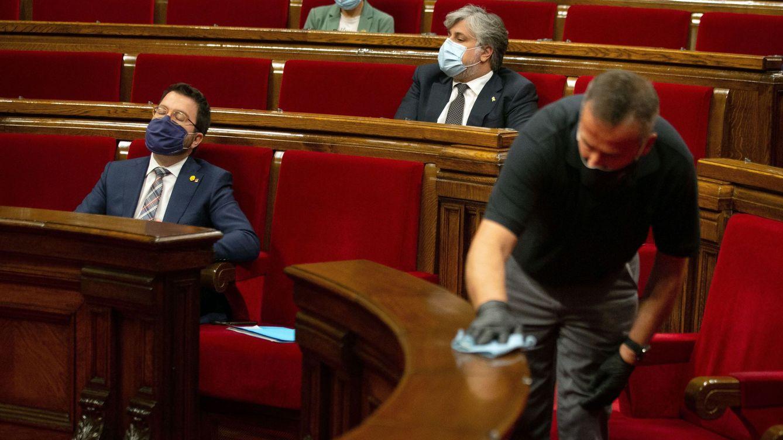 El Parlamento catalán sólo censura en el diario oficial los textos de la oposición