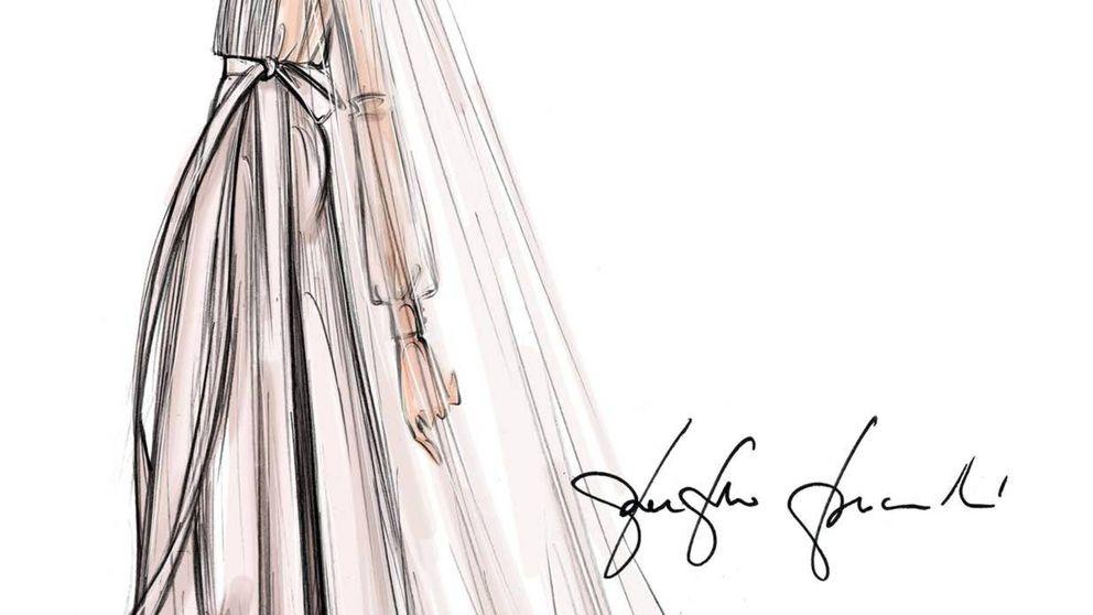 Todos los detalles del original vestido de novia de Marta Ortega firmado por Valentino