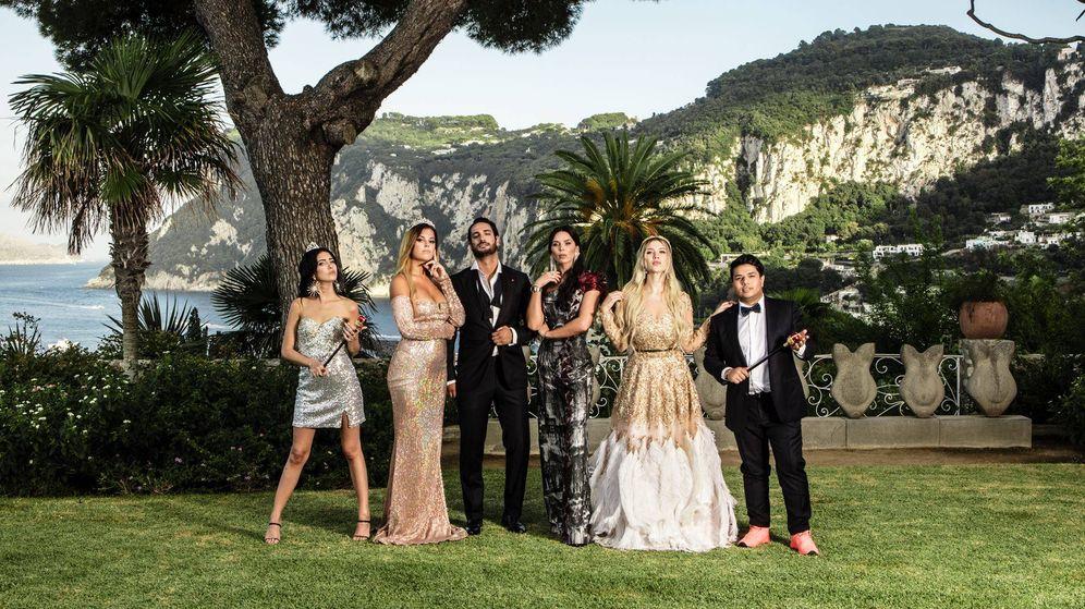 Foto: Imagen promocional del reality 'Riccanza World'. (MTV)