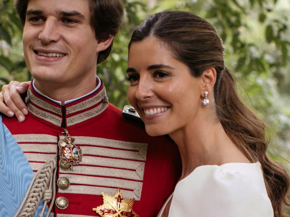 Foto: El look de belleza de Belén Corsini para su boda. (Foto: Alejandra Ortiz)