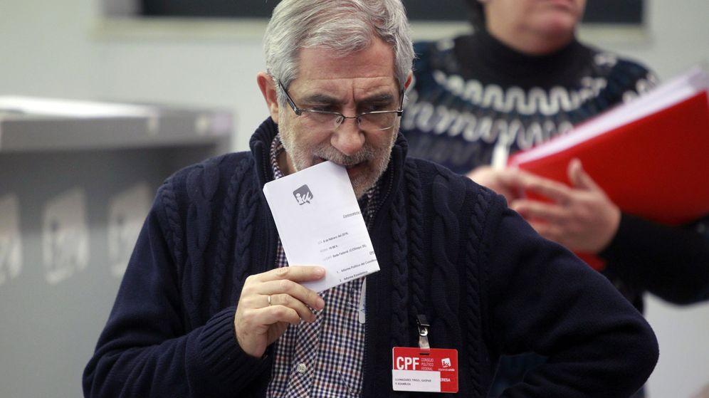 Foto: El que fuera Coordinador General de Izquierda Unida, Gaspar Llamazares. (Efe)