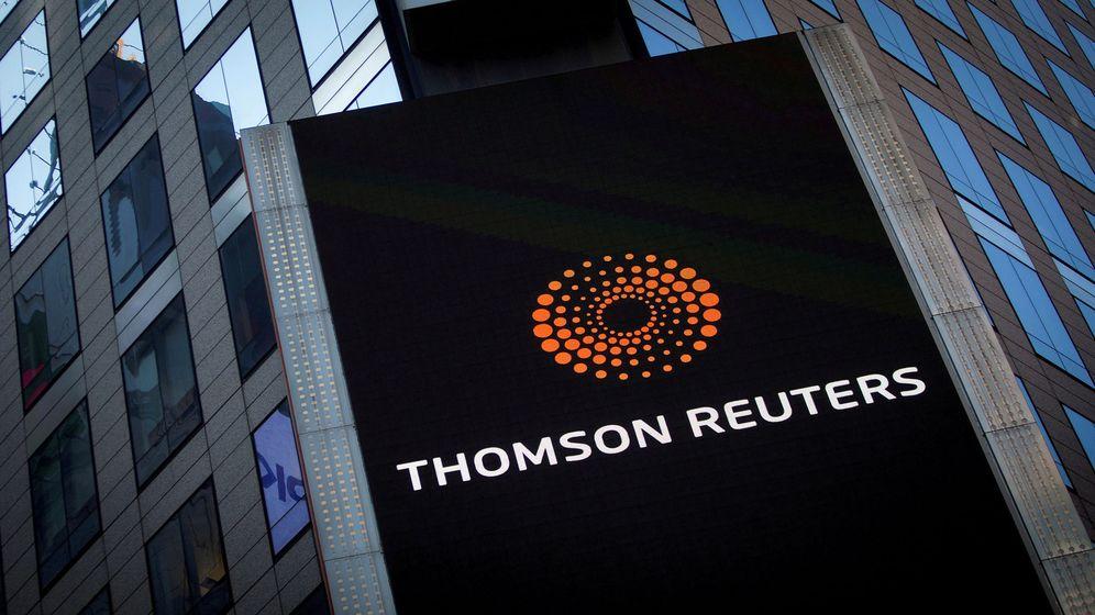Foto: Exterior de la sede de Thomson Reuters en Nueva York. (Reuters)