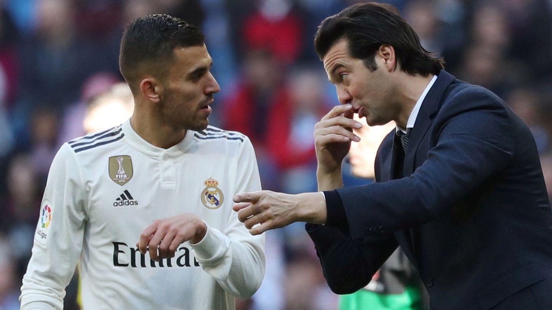 Tras la destitución de Lopetegui, Florentino volvió a mirar al Castilla y promocionó a Solari. (EFE)