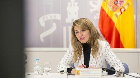 Yolanda Díaz, de abogada laboralista a designada por Iglesias para su relevo