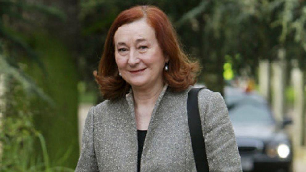 La presidenta de Hispasat, la única empresaria presente en la reunión