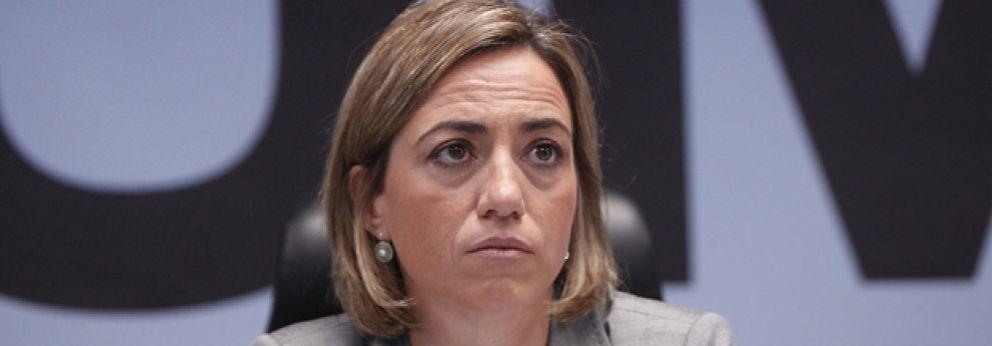Foto: Roban el coche particular de la ministra Carme Chacón de su casa en Esplugues