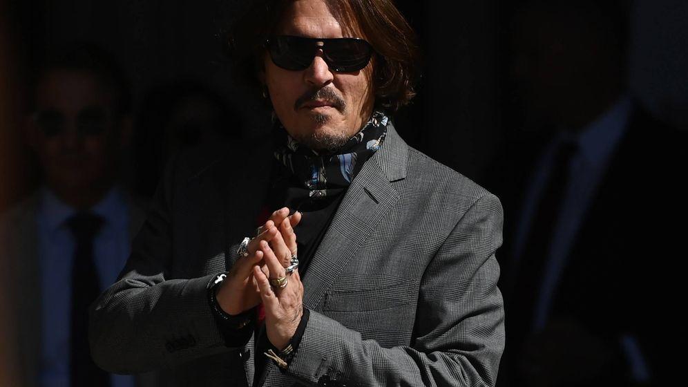 Foto:  Johnny Depp, en la última sesión del juicio. (EFE)