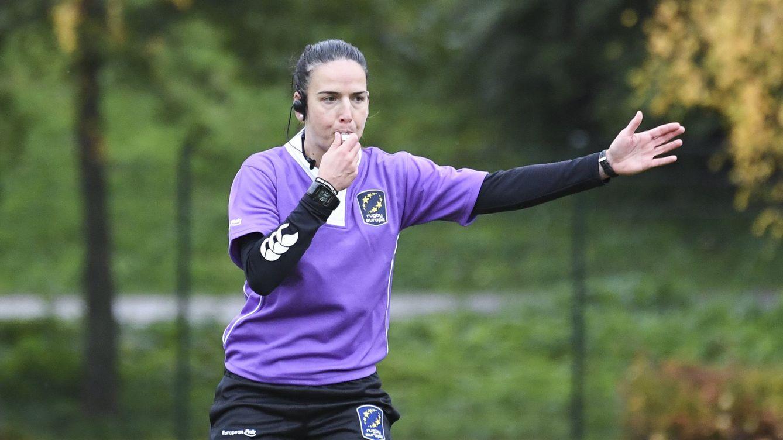 Foto: Alhambra Nievas hizo historia en el rugby. (EFE)