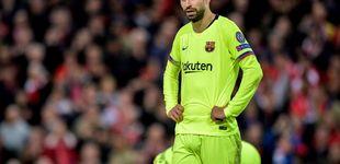 Post de El peor momento de Piqué en el Barça y su dolor por un error que no se perdona