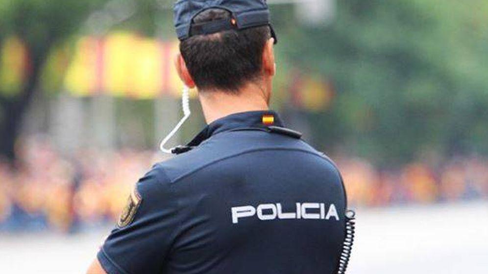Foto: Un agente de Policía Nacional.