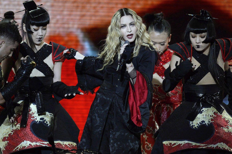 Foto: Madonna en concierto