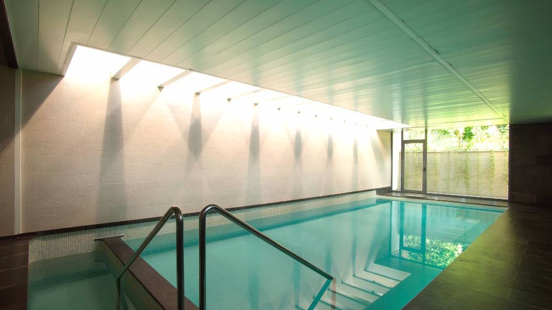 Un detalle de la piscina del spa. (Cortesía)